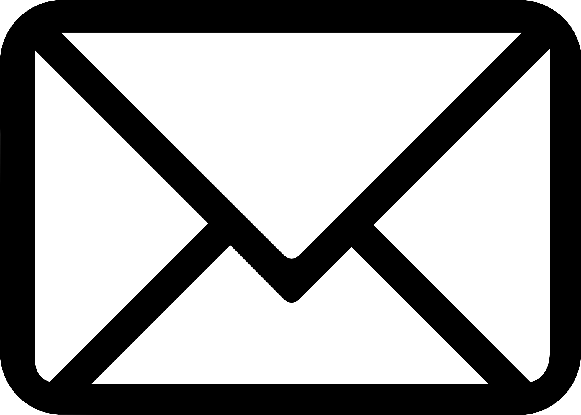 Email icon vector msg